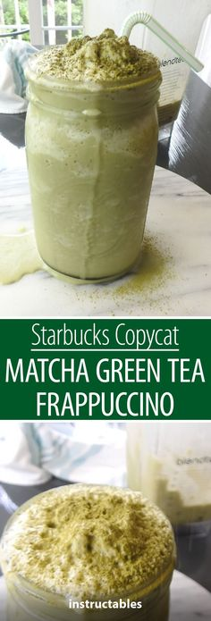 Starbucks Copycat Matcha Green Tea Frappuccino For thos. Starbucks Copycat Matcha Green Tea Frappuccino For those who love matcha powder, try this copycat recipe for a matcha green tea frappuccino! Matcha Green Tea Smoothie, Matcha Drink, Matcha Green Tea Powder, Matcha Powder Recipes, Matcha Tea Benefits, Green Tea Recipes, Starbucks Recipes, Starbucks Tea, Keto