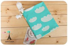 Hey, I found this really awesome Etsy listing at https://www.etsy.com/listing/186280605/cloud-cotton-fabric-mint-by-the-yard