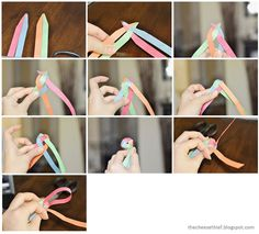 How to Weave a Paper Ball Ornament