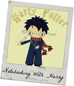 Homegrown Learners Harry Potter Notebooking Page to download and lots of info on JKRowling