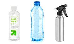way to keep cool... DIY cooling body spray