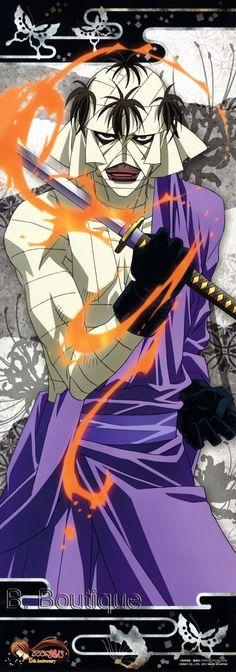 Rurouni Kenshin SHISHIO long poster portrait Ruroni Samurai X