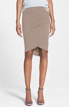 James Perse Tulip Hem Skirt | Nordstrom