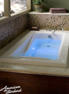 American Standard Green Tea Bathtub