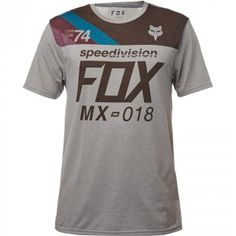 Fox Accordingly Tech TShirt - Heather Dark Grey 65ff43eef2e