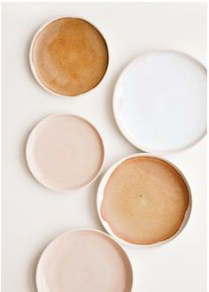 Nougat ceramic bowl - beautiful ceramic bowls in peach colors - . - Nougat ceramic bowl – beautiful ceramic bowls in peach colors – - Peach Color Palettes, Neutral Colour Palette, Peach Colors, Neutral Tones, Ceramic Plates, Ceramic Pottery, Ceramic Art, Glazed Ceramic, Ceramic Store