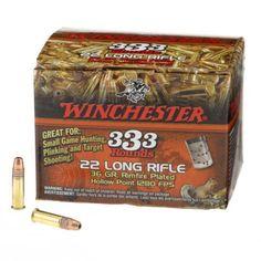 Winchester 333™ .22 Long Rifle 36-Grain Ammunition