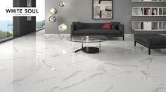 White Soul 60x60 porcelain