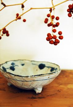 Japanese pottery and presentation - Supreme.