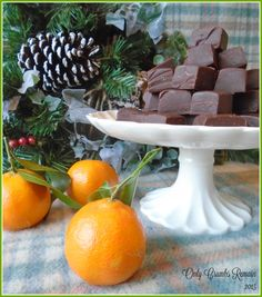 Cheats CHOCOLATE ORANGE FUDGE!  Simple to make in a microwave only taking a few minutes.  Perfect for parties and small gifts!