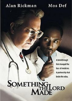Something The Lord Made (2004) Story of first heart surgery. Addresses the CHD condition my daughter has, now known as Tetrology of Fallot. Great movie!