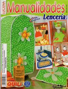 FULL MAGAZINE, REVISTA COMPLETA Sewing Crafts, Sewing Projects, Crafts To Make, Diy Crafts, Baby Quilts, Couture, Clip Art, Kids Rugs, Album