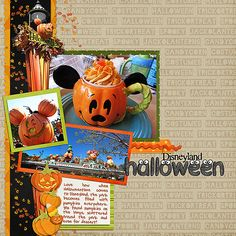 2010-09-24-DLR-Halloween  Disneyland Halloween inspired scrapbooking
