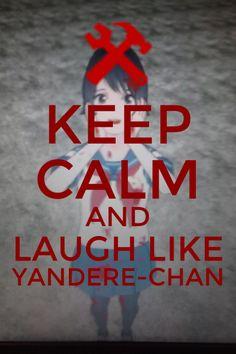 I just love Yandere Simulator Yandere Manga, Animes Yandere, Tsundere, Love Sick, Just Love, Yandere Simulator Memes, Miku Chan, Dark Quotes, Indie Games