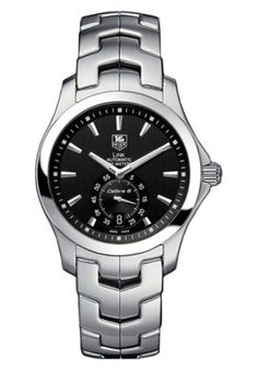 TAG Heuer Mens WJF211ABA0570 Link Automatic Watch -- Check out the image by visiting the link.