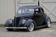 1937 Ford.-I think we had a 1937 Chevy