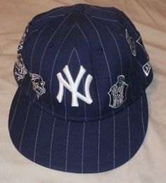 7a69ed99f90 New Era Ny Yankees pinstripe world series 1951-2000 59Fifty Fitted Cap 7 1