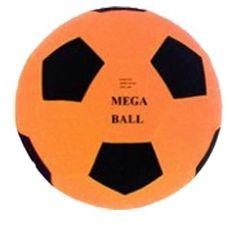 29175c4b8b4 Giant Mega Ball Garden Beach Play Inflatable Ball 45cm - Amazing Summer Fun  - Orange  Amazon.co.uk  Toys   Games