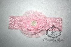 Lace Headbands, Chantilly Lace, Baby Boutique, Pink Lace, Girly, Facebook, Accessories, Women's, Girly Girl