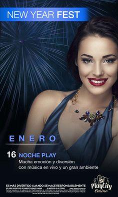 Mañana NOCHE PLAY: Mucha emoción y diversión con música en vivo y un gran ambiente en Play City Casino Antara