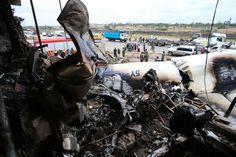 Skyward Fokker 50, 4 crew perished.