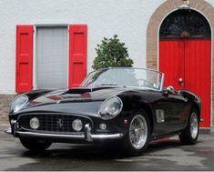 Vintage 1961 Ferrari 250 GT California Spyder, cost 10.8 million dollars