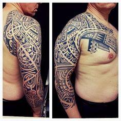 tatouage polynesien-polynesian tattoo: July 2013