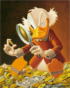 Uncle Scrooge - The Expert by Carl Barks