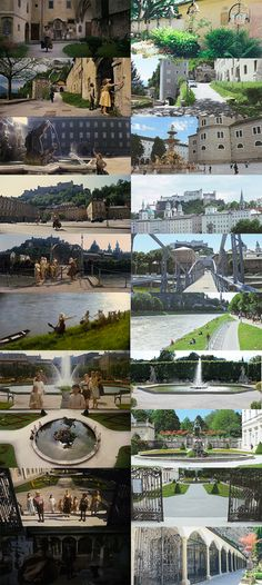 The Sound of Music Filming Locations that I saw in Salzburg, Austria