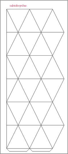hexaflexagon Fun for the kids! silhouette ideas Pinterest - hexaflexagon template