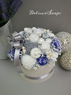 Napkin Rings, Bouquet, Soap, Flowers, Christmas, Baby, Home Decor, Bouquets, Navidad