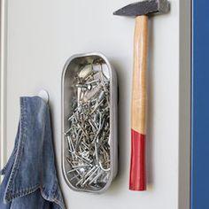 Magnetic chrome steel bowl for nails, screws, needles, tools etc. / Magnetische Chromstahl-Schale für Nägel Schrauben, Nadeln, Werkzeug etc.