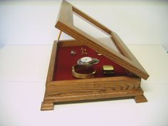 Curio Display Case by Wood2things on Etsy