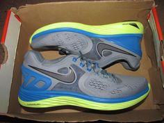 Nike Lunareclipse 4 Running Shoes Womens 7.5 Magnet Grey Photo Blue 629683 004 #Nike #RunningCrossTraining