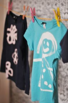 DIY  t-shirts with bleech to paint - See the best kids DIY-ers on FamilyFun Pinterest boards!