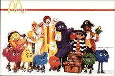 Original McDonald's Characters | McDonald's Characters Modern (1970's to Present)