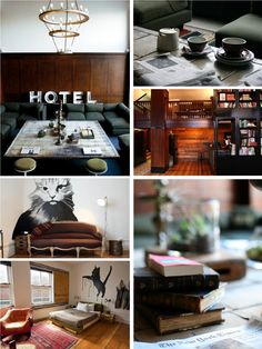 The former Clyde Hotel built in 1912 was reborn into something awesome as the Ace Hotel.  The attached restaurant is named Clyde Common as a nod to the past.