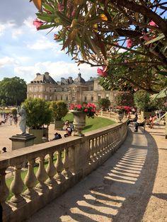 Paris est une Fête! — Le Jardin du Luxembourg, Paris. Luxembourg gardens