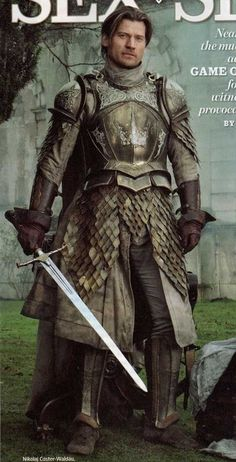 Game of Thrones, Jamie's Kingsguard Armor -  Costumes Designed by Michele Clapton