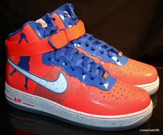 finest selection 2dd0b a89bc As a lifelong Knicks fan I was so stoked to get these. The Nike Air Force 1  High CMFT PRM RW QS.