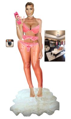 """""""Instagram Time: posts a pic inside her closet"""" by a-andm ❤ liked on Polyvore featuring Moschino"""