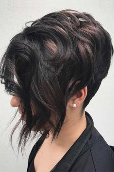 Layered Long Pixie Hairstyles #shorthaircuts #shorthairstyles #shorthair #pixiehaircut #blackhair