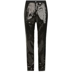 Dolce & Gabbana Sequined Trousers ($1,290) ❤ liked on Polyvore featuring men's fashion, men's clothing, men's pants, men's casual pants, dolce gabbana mens pants, mens sequin pants and mens flat front dress pants