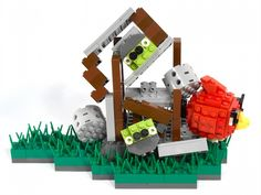 how fun is this angry Birds lego