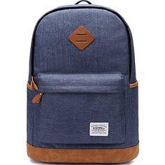 KAUKKO College Backpack Campus Rucksack Satchel Bag Sports Outdoor Travel Daypack Schoolbag for Teens Girls Boys (Blue) KAUKKO http://www.amazon.com/dp/B01ABSXQJ2/ref=cm_sw_r_pi_dp_RoF5wb14373DY