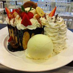 Chocolate Volcano Honey Toast ..Signature Dessert Cafe The Sense Pinklao