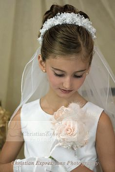 First Communion Crown Veils-4366