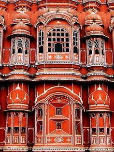 Hawa Mahal Palace in Jaipur, India. | #MostBeautifulPages