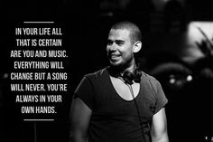 Love this from Afrojack. An awesome DJ.
