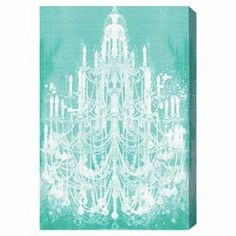Hang this artful canvas print above your living room seating group to create a stylish conversation space, or display it in the foyer for eye-catching appeal. Crafted in the USA, this chic design showcases a chandelier motif.  Product: Canvas printConstruction Material: Canvas and woodFeatures:  Chandelier motifComes with certificate of authenticity by the artist.   Made in the USA Ready to hangHardware included  Cleaning and Care: Dust lightly using a soft, clean, lint-free cotton.